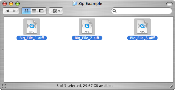 how to zip a file mac